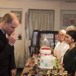 Prince William loved the cakes on offer telling staff they should go on Bake Off Photo C GETTY