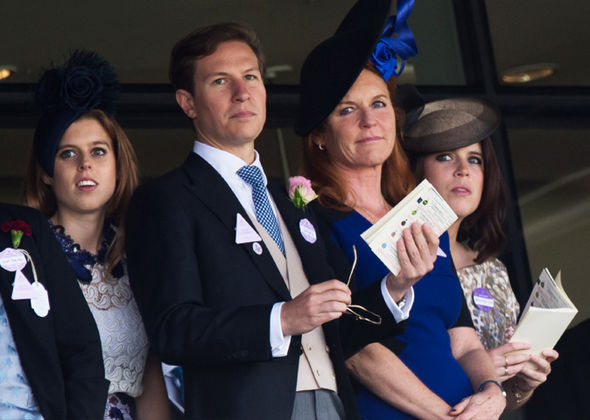 Princess Beatrice Granddaughter of the Queen dated Dave Clark for 10 years Photo (C) GETTY