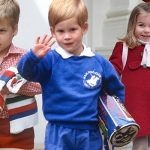 Princess Charlotte Prince William and Prince Harry pictured on their first day Photo C KENSINGTON PALACE GETTY IMAGES