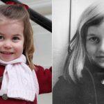 Princess Charlotte and Princess Diana Share Striking Similarities in Childhood Photos Photo C GETTY