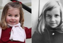 Princess Charlotte and Princess Diana Share Striking Similarities in Childhood Photos Photo (C) GETTY