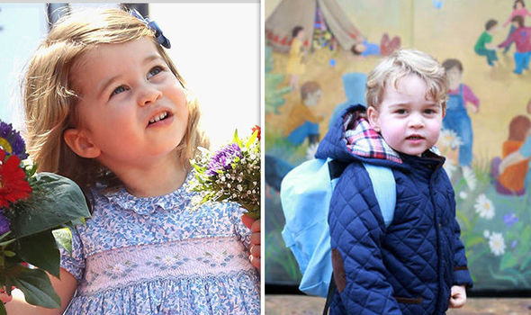Princess Charlotte is attending a different nursery to Prince George Photo (C) GETTY