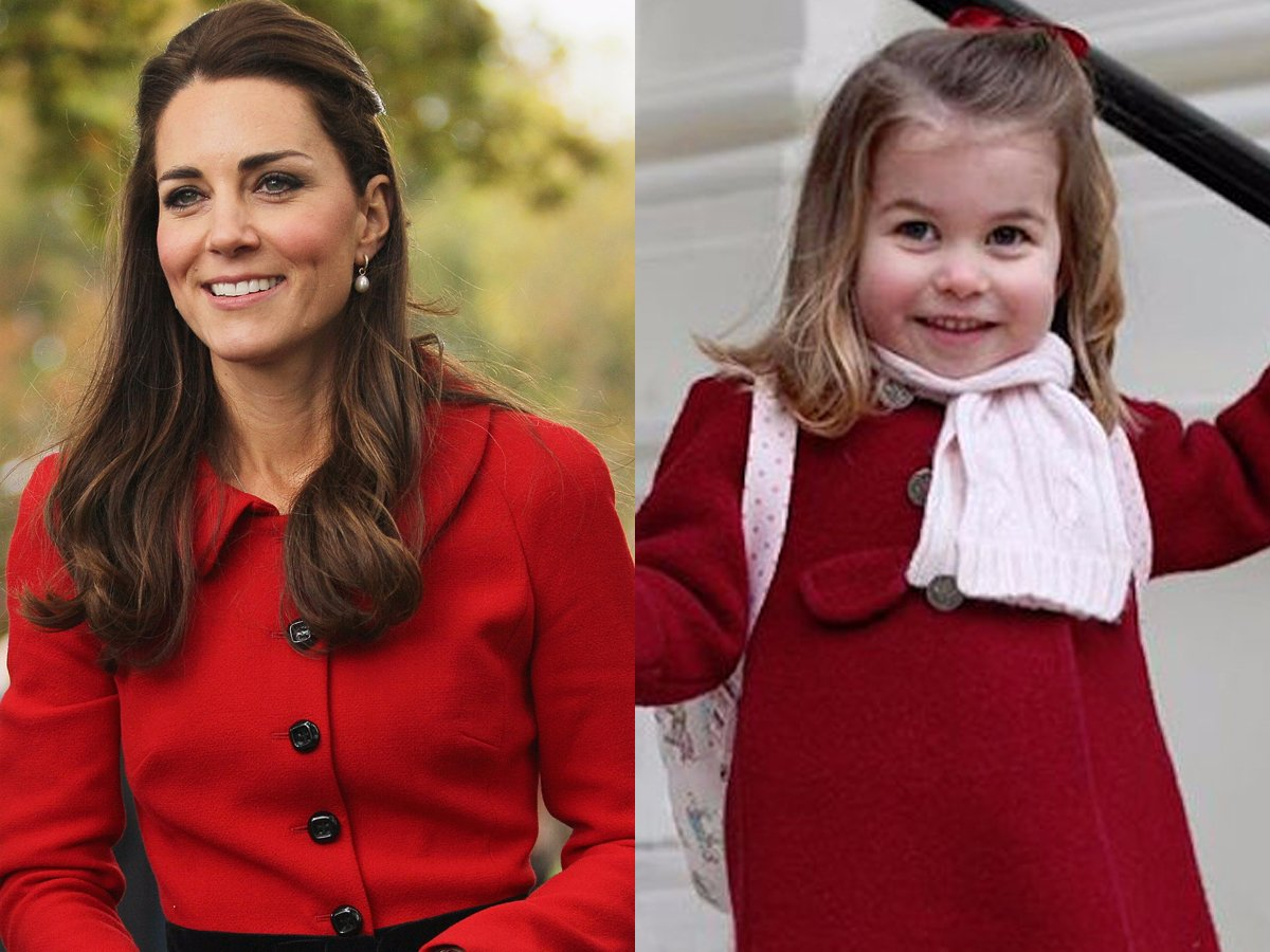 Princess Charlotte looks just like her mom. Joseph Johnson, Getty Images and Kensington Palace, Instagram