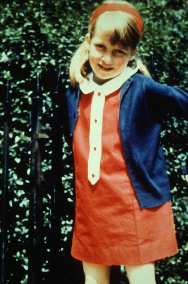 Princess Diana Childhood Photo (C) GETTY
