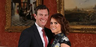 Princess Eugenie and Jack Brooksbank official photos have been released Photo (C) PA