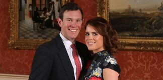 Princess Eugenie shows off engagement ring in newly-released official pictures Photo (C) PA