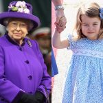 Queen Elizabeth II and Princess Charlotte. Chris Jackson Getty Images