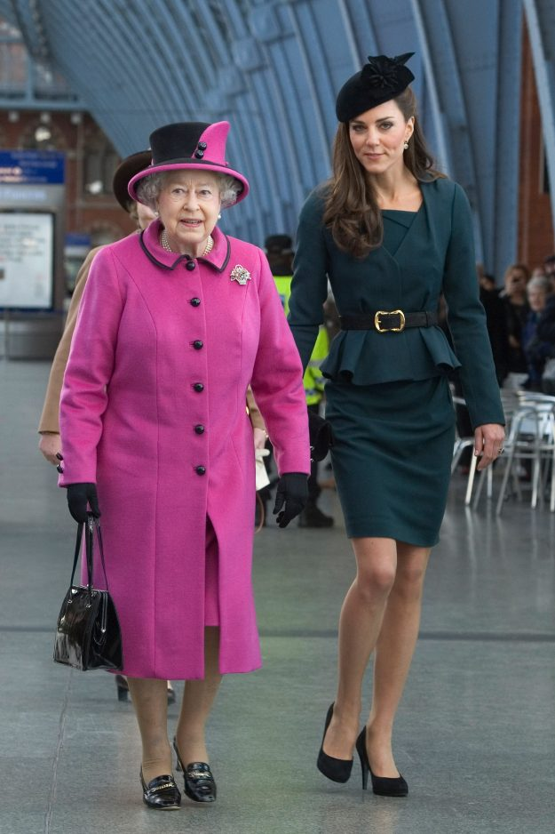 Queen Elizabeth II reportedly likes the women in the royal family to wear tights while out in public [Getty]