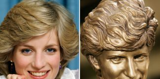 REMEMBERED The memorial was built soon after Diana died in 1997 Photo C GETTY