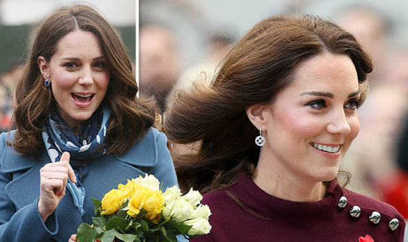 The Duchess of Cambridge's stylist has shared a rare insight behind Kate's enviable curls Photo C GETTY