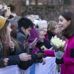 The Duchess of Cambridge in Coventry