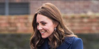 The Duchess of Cambridge visited Reach Academy in West London on Wednesday afternoon. (Photo Getty Images)