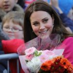 The Duchess ofCambridge arrives for a visit Coventry Cathedral Getty