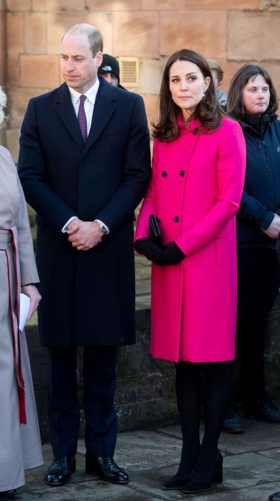 The Duke and Duchess of Cambridge are visiting Coventry today Photo Getty