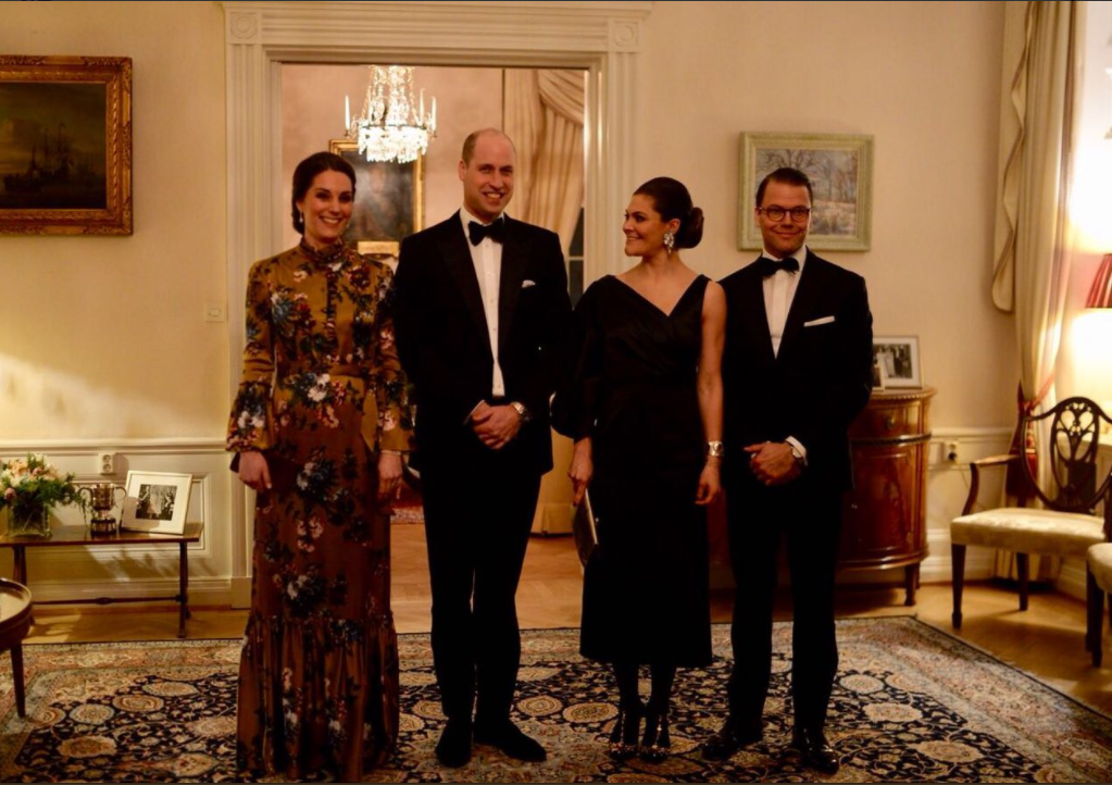 Kate Middleton Stuns in Sweden as pregnant Duchess meets Swedish Primister with Prince William Photo C KENSINGTON ROYAL