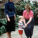 The Prince wore a stripy jumper red shorts and red shoes Photo C GETTY