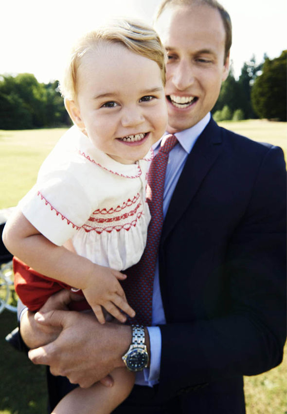 Princess Charlotte R in an official portrait to mark her first day at Willcocks Nursery School Photo C PA GETTY
