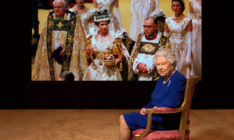 The Queen makes rare comments about her coronation Photo (C) GETTY IMAGES
