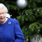 The Queen was left laughing when she received her first Christmas present from Meghan Markle Photo C GETTY