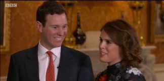 The Queen was very happy for newly engaged Princess Eugenie and Jack Brooksbank Photo C GETTY