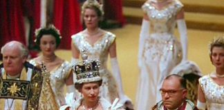 The documentary shows Queen Elizabeth's reaction to her crowning. Photo (C) GETTY