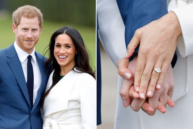Prince Harry and his fiancee US actress Meghan Markle Getty