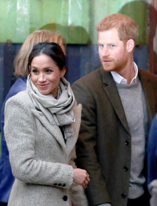 The wedding is expected to bring a massive £500million to the UK Photo (C) EPA