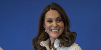 This is the best picture you will see of Kate's blossoming bump Photo (C) GETTY IMAGES