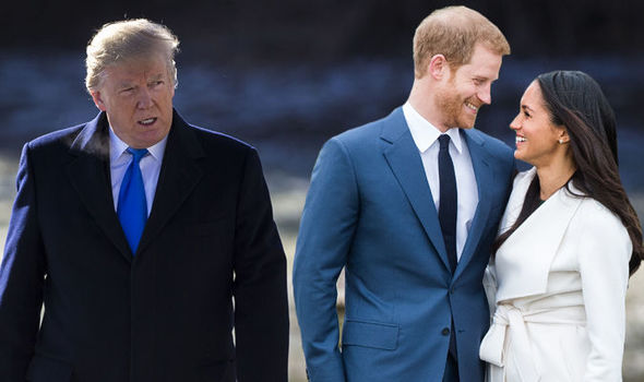 Trump will stop US-UK Brexit deal if he is not invited to Royal Wedding Photo (C) GETTY IMAGES