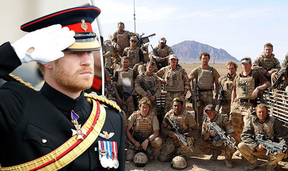Warrant Officer Nathan Hunt, 39, served with Prince Harry in Afghanistan Photo (C) GETTY