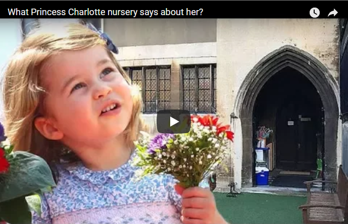 What Princess Charlotte nursery says about her