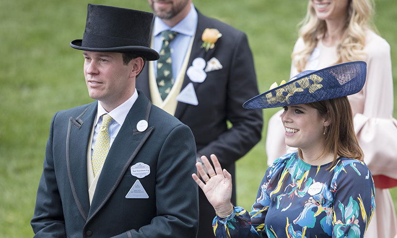 What royal title will the Queen give Princess Eugenie's fiancé Jack Brooksbank Photo (C) GETTY IMAGES