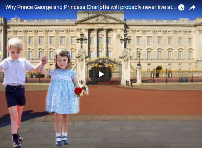 Why Prince George and Princess Charlotte will probably never live at Buckingham Palace
