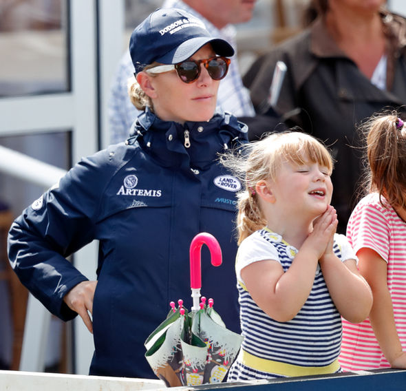Zara Tindall pregnant Mike and Zara are already parents to Mia, 3 Photo (C) GETTY