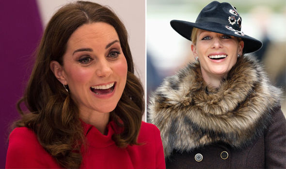 Zara Tindall pregnant Will Kate Middleton have her baby first Photo (C) GETTY IMAGES