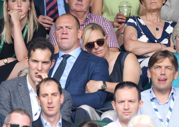 Zara Tindall pregnant Zara has been married to Mike since 2011 Photo (C) GETTY IMAGES