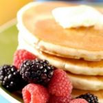 "iStock ""Pancakes with bacon and maple syrup – that certainly doesn't do it for me"" Middleton said."