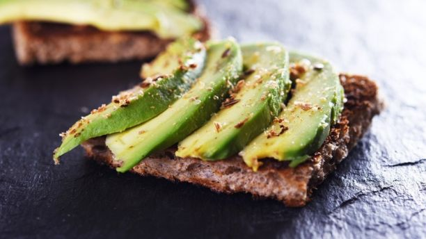 """iStock Toasted rye bread with eggs or avocado"""" are amongst her usual morning fare."""