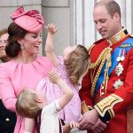 princess charlotte trooping the colour