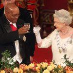 queen elizabeth toasting