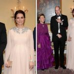 Kate stunned in the dress Photo (C) GETTY
