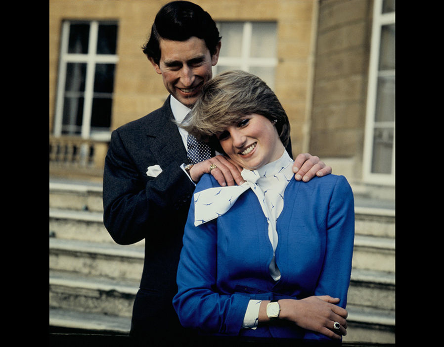 The special moments captured on camera of Prince Charles and Princess Diana together Photo (C) GETTY IMAGES