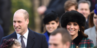 Merry Christmas! The Duke and Duchess of Cambridge, Prince Harry and Ms. Meghan Markle have joined members of the Royal Family for the Morning Service on Christmas Day in Sandringham