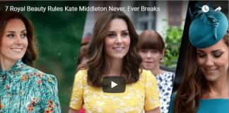7 Royal Beauty Rules Kate Middleton Never Ever Breaks