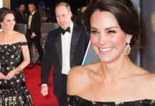 BAFTAs 2018 There's a reason Kate Middleton may not wear black to tonight's awards ceremony Photo (C) GETTY