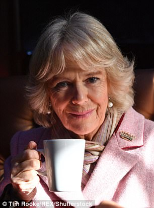 By all accounts, the ever-jovial and down-to-earth Camilla, 70, was only too happy to oblige