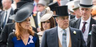 Camilla Duchess of Cornwall Sarah Ferguson and Prince Andrew remain close Photo C GETTY
