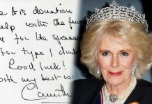 Camilla, Duchess of Cornwall She wants to be Queen, according to an analysis of her handwriting Photo (C) GETTY