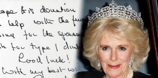 Camilla Duchess of Cornwall She wants to be Queen according to an analysis of her handwriting Photo C GETTY