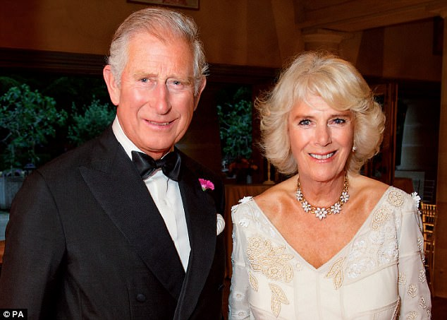 Camilla reportedly bought Charles some gardening gloves from The House & Garden Shop in Holt Photo (C) GETTY